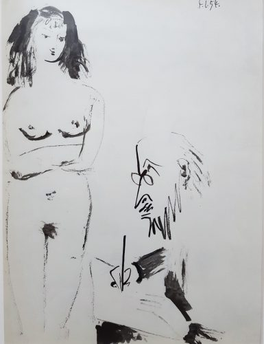 La Comedie Humaine by Pablo Picasso (after) at