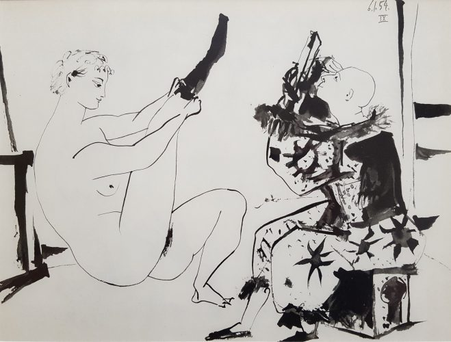 La Comedie Humaine by Pablo Picasso (after) at Graves International Art
