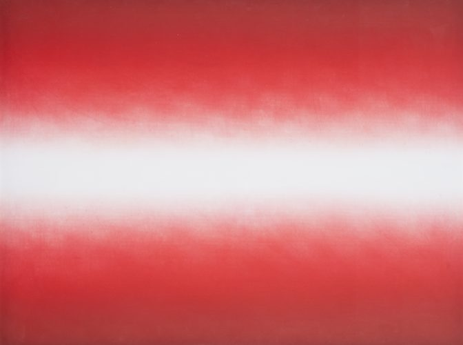 Shadow III (Red) by Anish Kapoor at