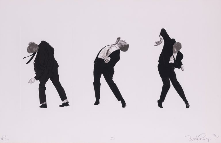 Men in the cities by Robert Longo at Galerie Raphael