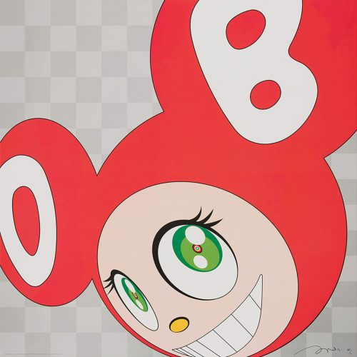 And then and then and then and then and then (Red) by Takashi Murakami at Galerie Raphael