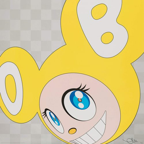 And then and then and then and then and then (Yellow) by Takashi Murakami at Galerie Raphael