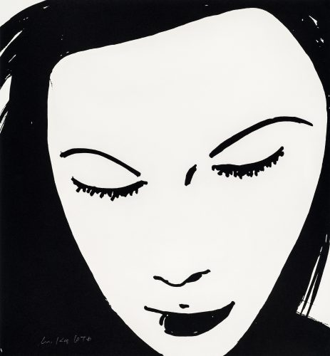 Beauty I by Alex Katz at Galerie Raphael