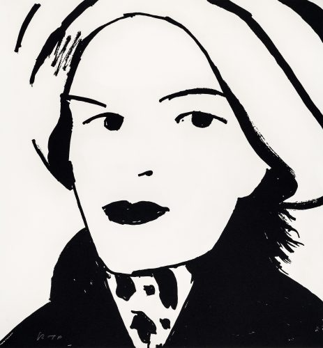 Beauty III by Alex Katz at Galerie Raphael