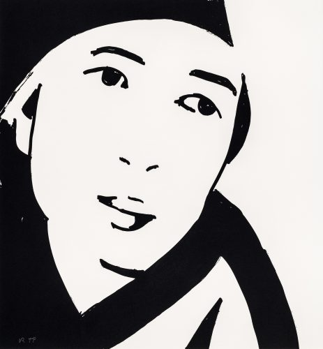 Beauty IV by Alex Katz at Galerie Raphael