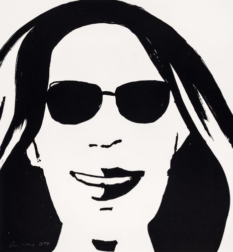 Beauty V by Alex Katz at Alex Katz