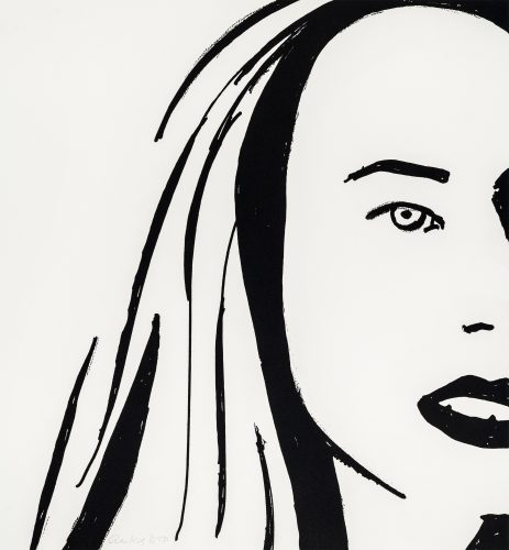 Beauty VI by Alex Katz at Alex Katz