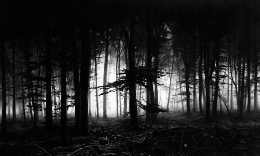 Untitled (Forest of Doxa) by Robert Longo at