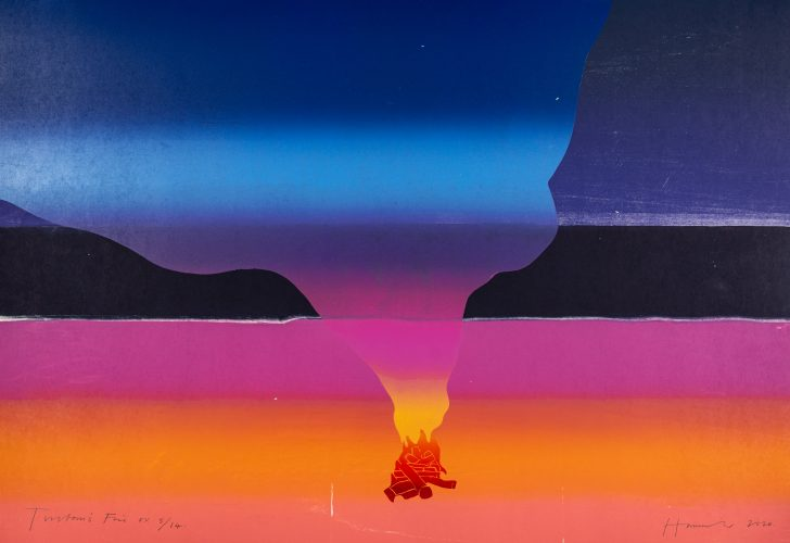 Tristan's Fire by Tom Hammick at