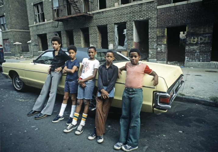 Bronx Teenagers Limited Edition  by Alain Le Garsmeur at Gallery Prints