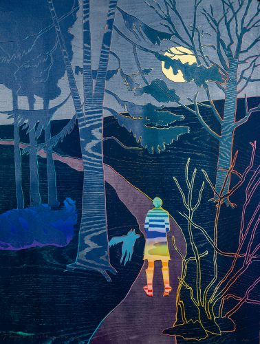 Tamino in the Wilderness by Tom Hammick at