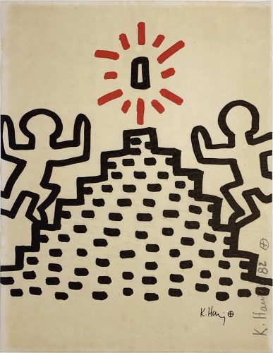 Bayer Suite #2 by Keith Haring at