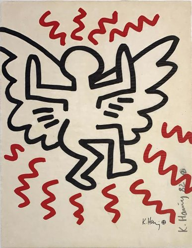 Bayer Suite #3 by Keith Haring at