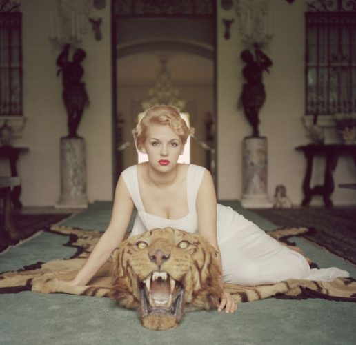 ' Beauty and the Beast ' 1959 Limited Estate Stamped Slim Aarons C Print by Slim Aarons at