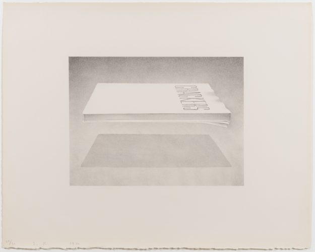 Crackers, from the Book Cover series by Ed Ruscha