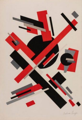 Constructivist Composition by Nadia K Leger at K Contemporary Ltd.
