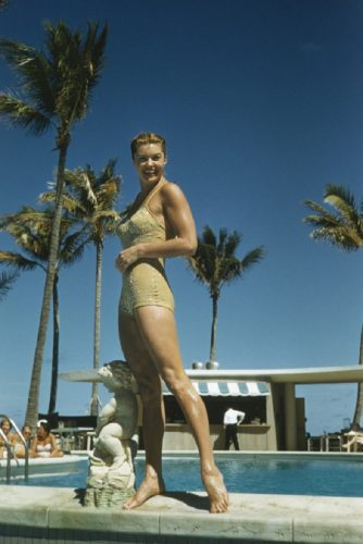 ' Esther Williams ' 1955 Slim Aarons Limited Estate Stamped C Print by Slim Aarons at