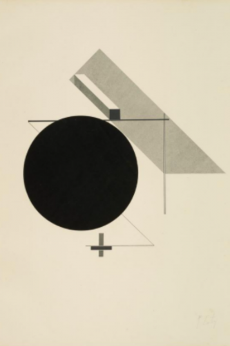 Proun by El Lissitzky at