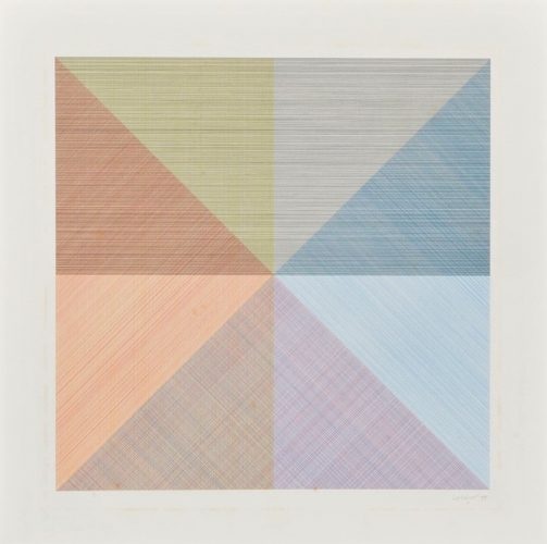 Untitled by Sol LeWitt at