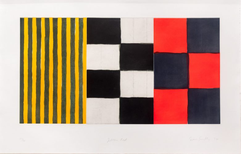 Yellow Red by Sean Scully at