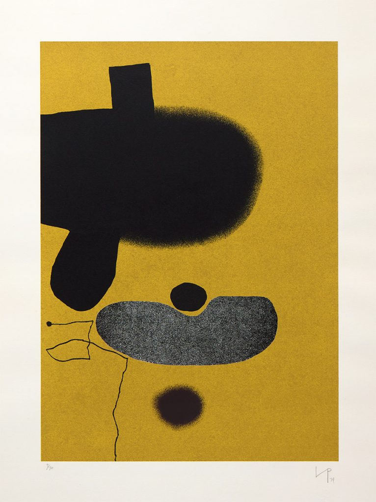Points of Contact 20 by Victor Pasmore