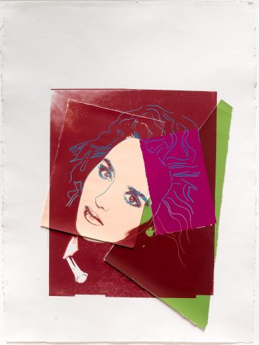 Portrait of Isabelle Adjani by Andy Warhol at