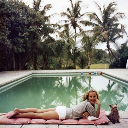 ' Having A Topping Time ' 1959 Slim Aarons Limited Estate Stamped C Print by Slim Aarons at