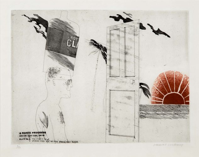 The Start of the Spending Spree…, from A Rake's Progress by David Hockney at David Hockney
