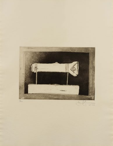 Flashlight (Large), from 1st Etchings, 2nd State by Jasper Johns at