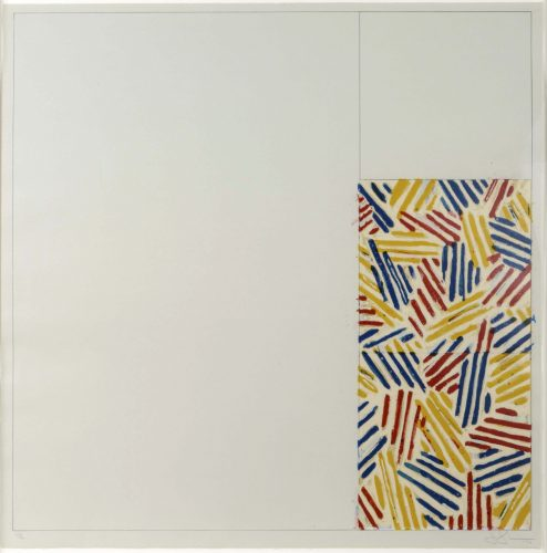 #4 (After Untitled 1975) by Jasper Johns at