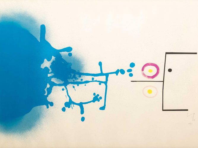 Blue Fantasy by Victor Pasmore at