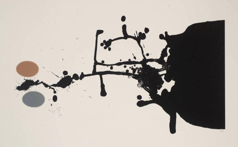 Black Tiger by Victor Pasmore at