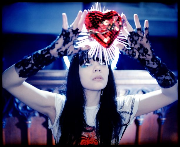 ' Bat 4 Lashes Heart ' 2009 Kevin Westenberg Signed Limited Edition by Kevin Westenberg at Gallery Prints