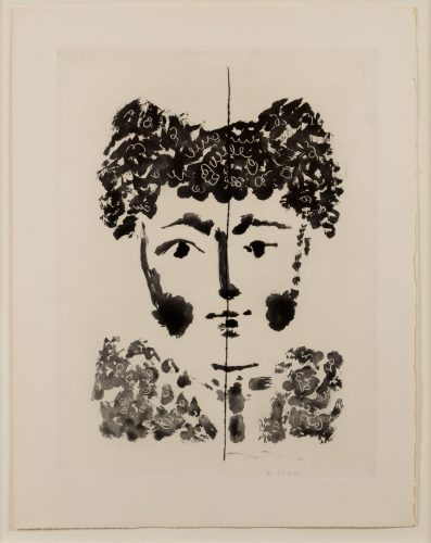 Torero, from Le Carmen des Carmen by Pablo Picasso at Leslie Sacks Gallery (IFPDA)