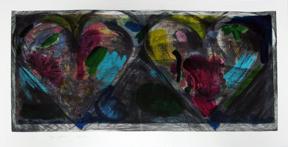 Blue Points by Jim Dine at