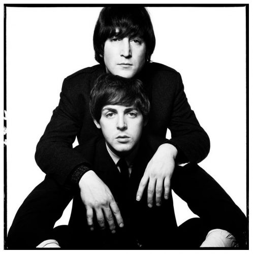 John Lennon & Paul McCartney by David Bailey at