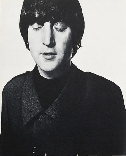 John Lennon by David Bailey at