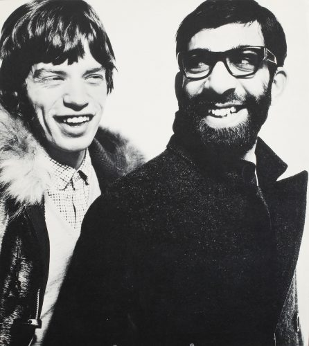 Mick Jagger & Max Maxwell by David Bailey at FEUTEU