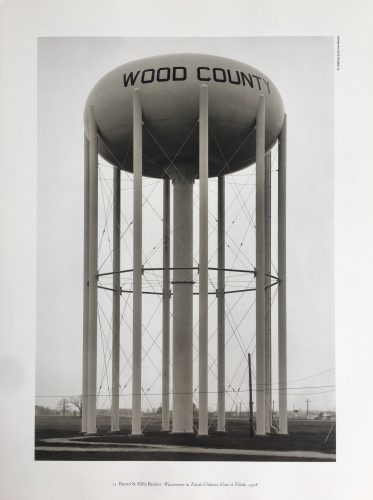 Water Tower, Toledo, Ohio by Bernd & Hilla Becher at