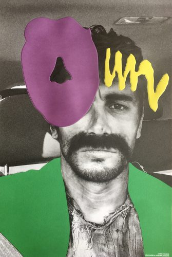 James Franco by John Baldessari at FEUTEU