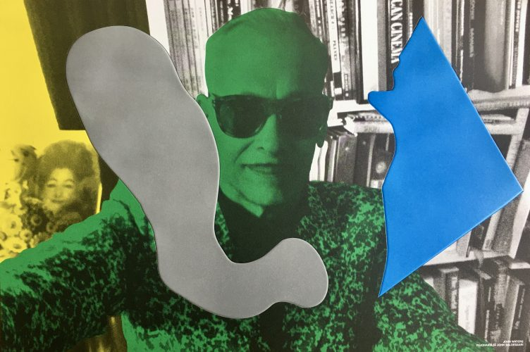 John Waters by John Baldessari at FEUTEU