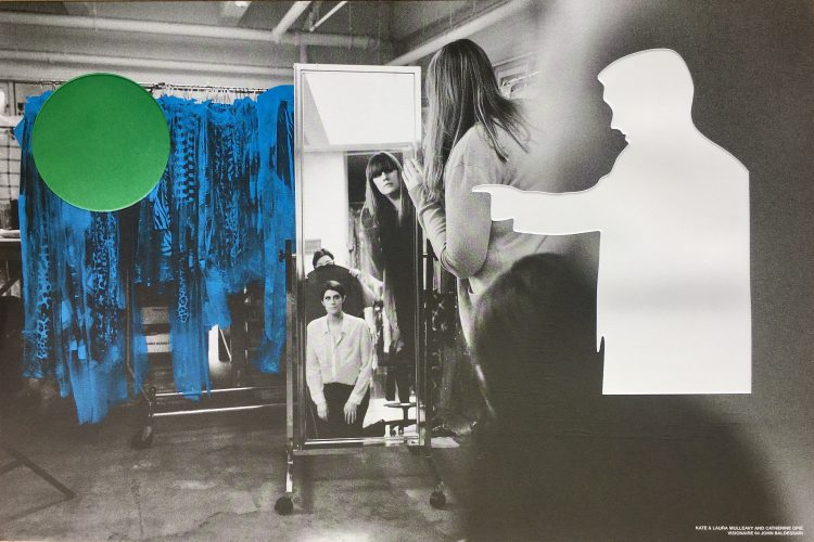 Kate & Laura Mulleavy with Catherine Opie by John Baldessari at FEUTEU