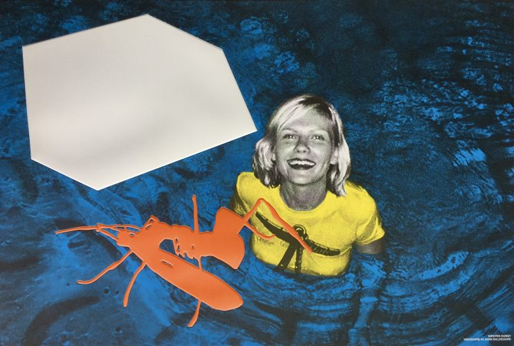 Kirsten Dunst by John Baldessari at FEUTEU