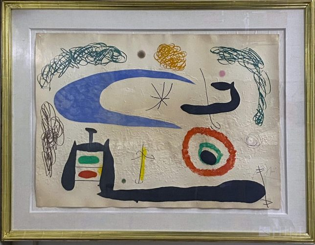 Dormir sous la Lune by Joan Miro at