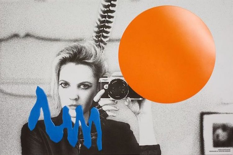 Drew Barrymore by John Baldessari at