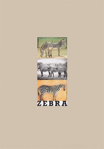 Z is for Zebra by Peter Blake at