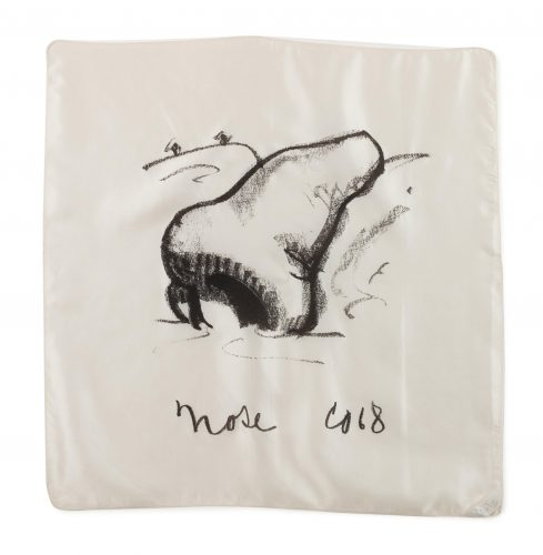 Nose Handkerchief by Claes Oldenburg at