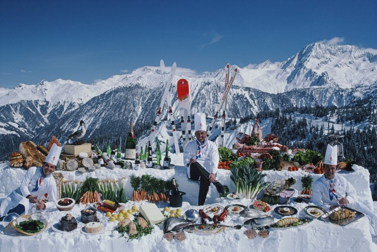 Culinary Heights by Slim Aarons at