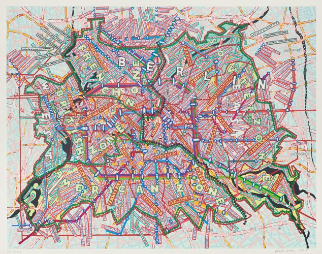 Berlin by Paula Scher at Paula Scher