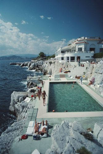 Hotel Du Cap Eden-Roc by Slim Aarons at FEUTEU